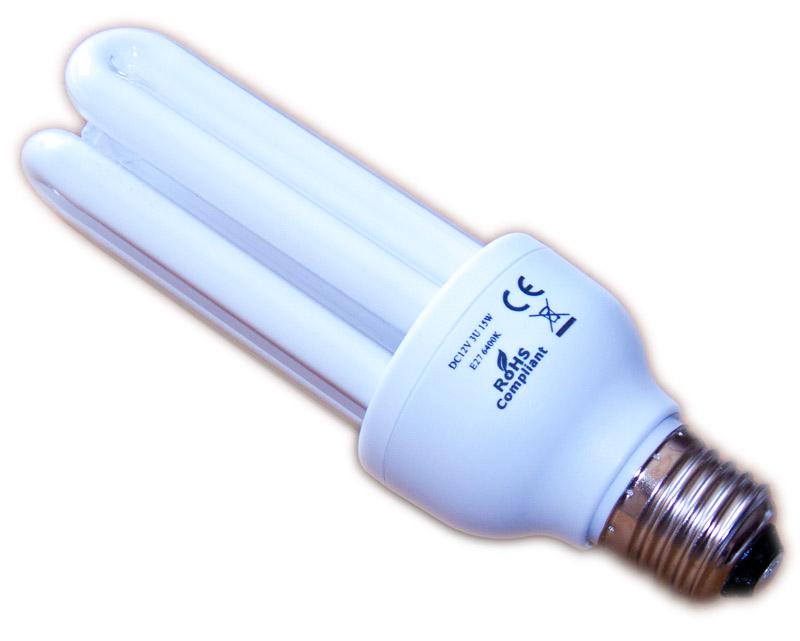solar lampe 12v 15w e27 3u 6400k teich filter. Black Bedroom Furniture Sets. Home Design Ideas
