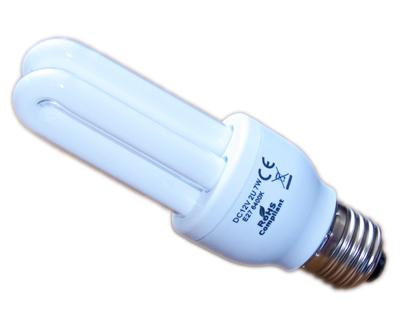 solarlampe 7w 12v dc e27 2u 6400k teich filter. Black Bedroom Furniture Sets. Home Design Ideas