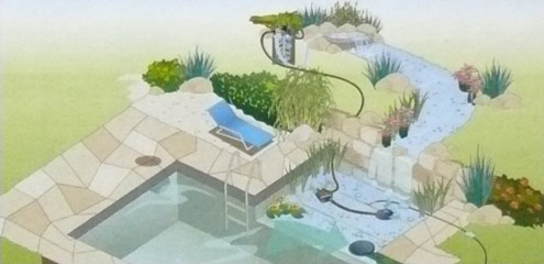 oase aquamax 12000 eco premium 12 volt f r badeteich. Black Bedroom Furniture Sets. Home Design Ideas