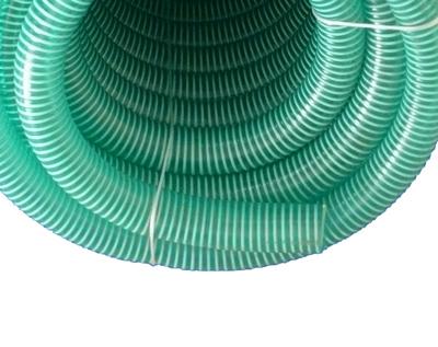 Meterware Saugschlauch *GRÜN Spiralschlauch Förderschlauch Pumpen Druckschlauch