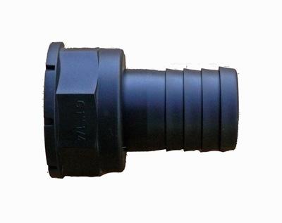 schlauchstutzen 32mm mit innengewinde f r tankdurchf hrung teich filter. Black Bedroom Furniture Sets. Home Design Ideas