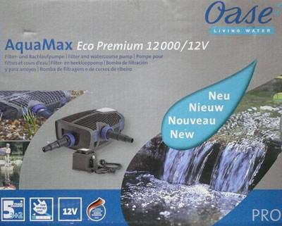 Oase Aquamax 12000 Eco Premium 12 Volt Für Badeteich Teich Filter