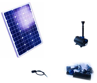 solar teichpumpenset 1500 standard sky teich filter. Black Bedroom Furniture Sets. Home Design Ideas