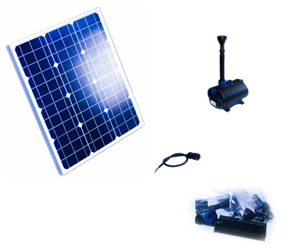 solar pumpenset 700 power teich filter. Black Bedroom Furniture Sets. Home Design Ideas