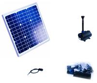 12v solar teichpumpe video teich filter. Black Bedroom Furniture Sets. Home Design Ideas