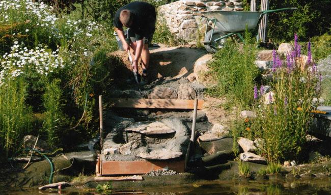 Bauanleitung teich filter - Wasserfall garten selber bauen ...