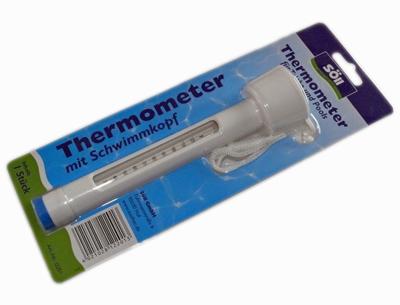 Schwimmthermometer f r teich und pool teich filter for Fischbesatz teich